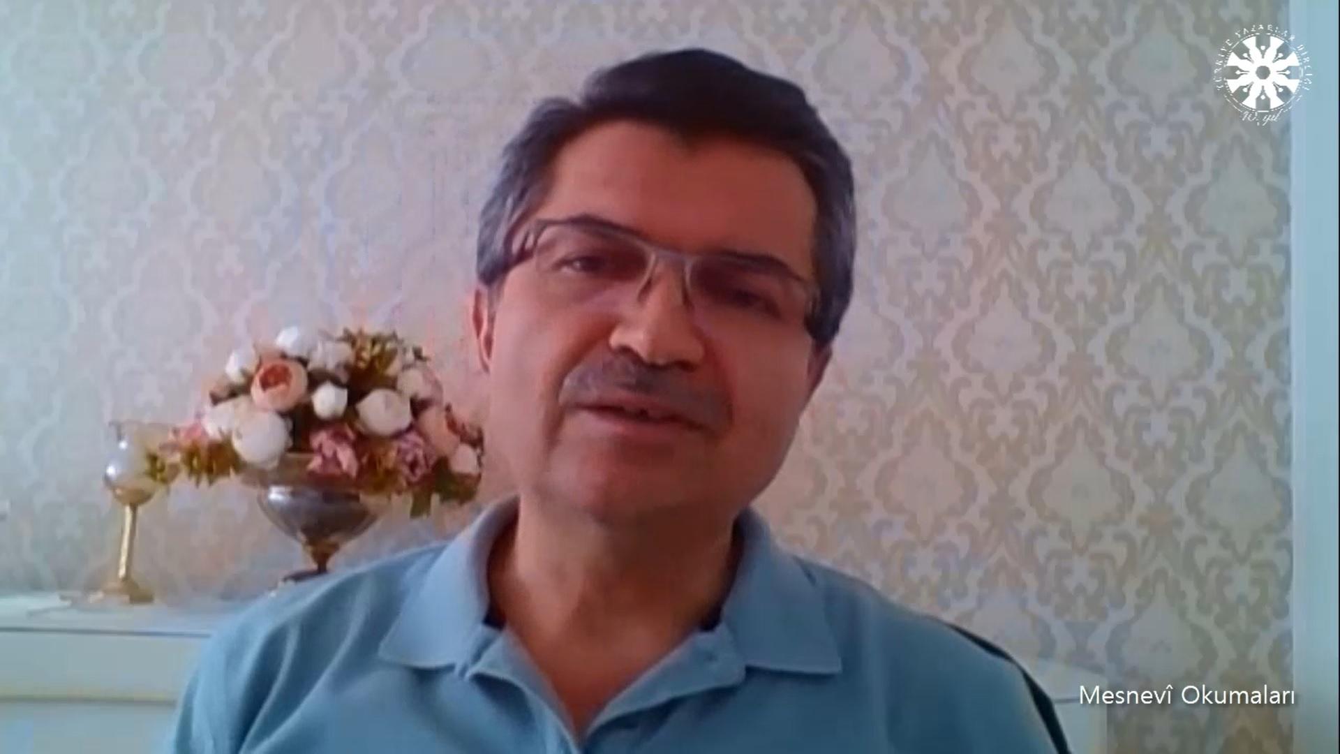 Mesnevî Okumaları -107- Dr. Fahrettin Coşguner