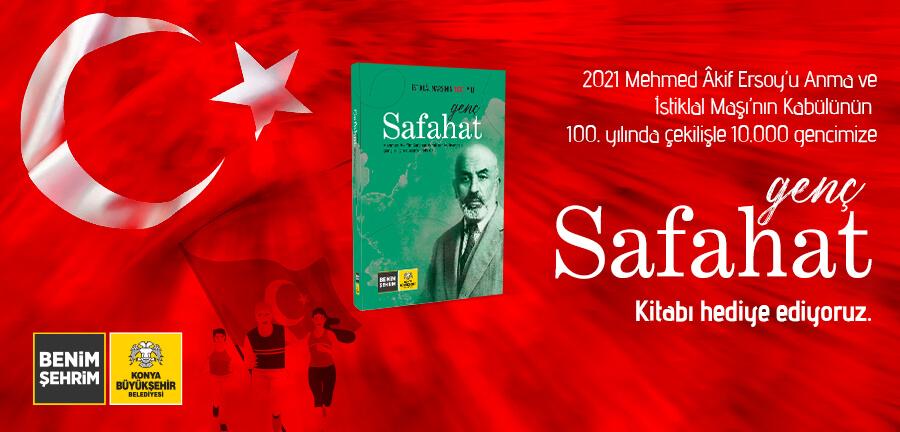 Konya Büyükşehir Belediyesi  Çocukları ve Gençleri Safahat'la buluşturdu
