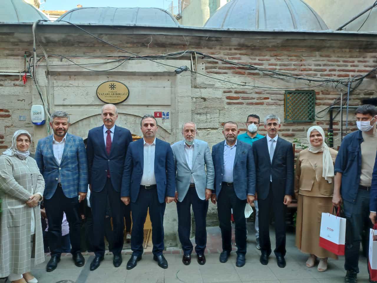 İmam Hatip Önderleri TYB İstanbul'da