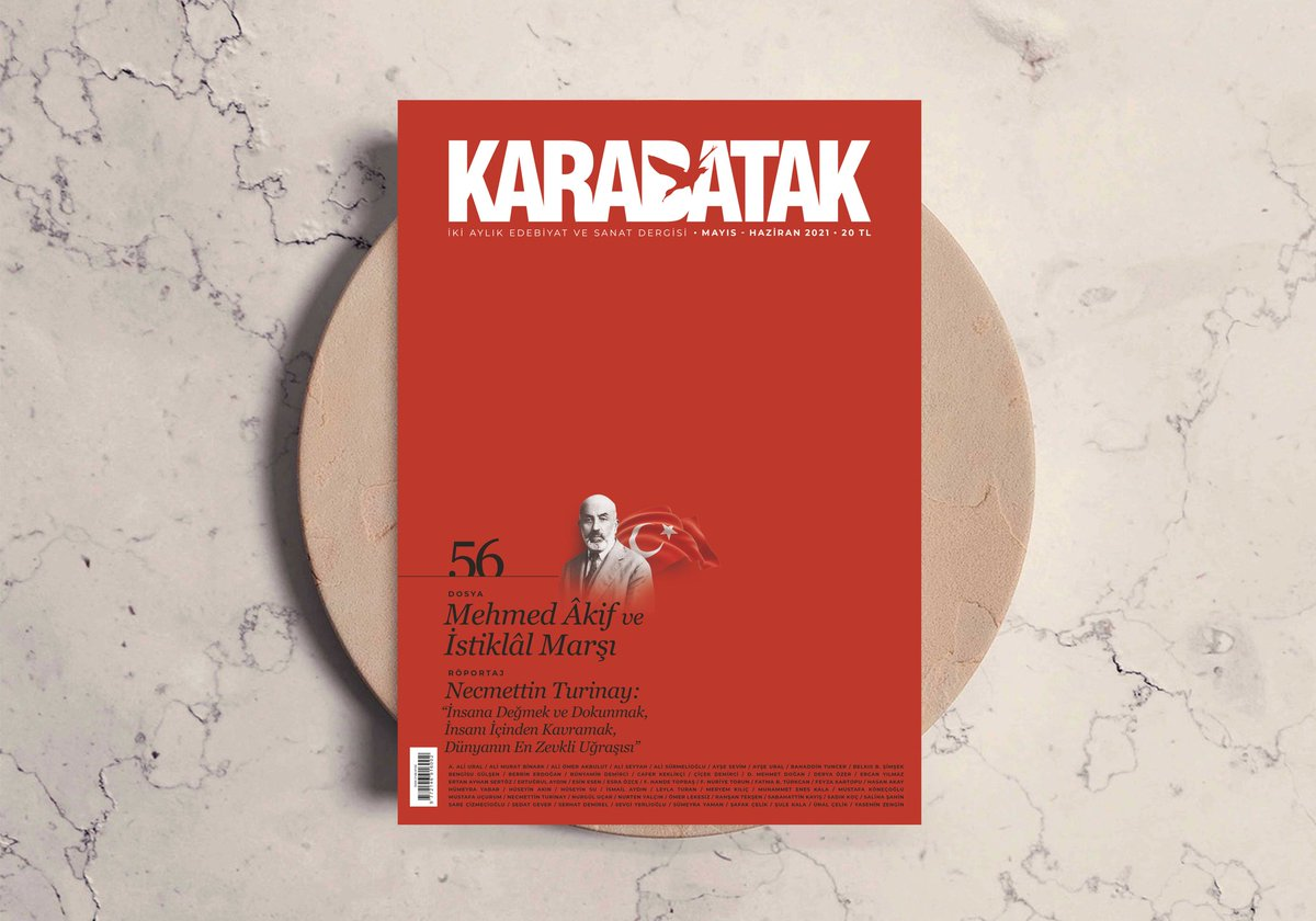 """Karabatak dergisinde """"Mehmed Âkif ve İstiklâl Marşı"""" dosyası"""