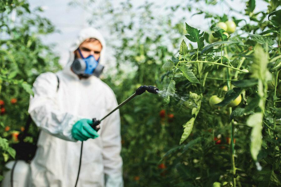 Pestisitlerin çevre ve insan sağlığına etkileri
