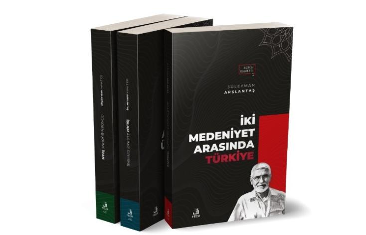 """Aslantaş'ın """"İki Medeniyet Arasında Türkiye"""" kitabı çıktı"""