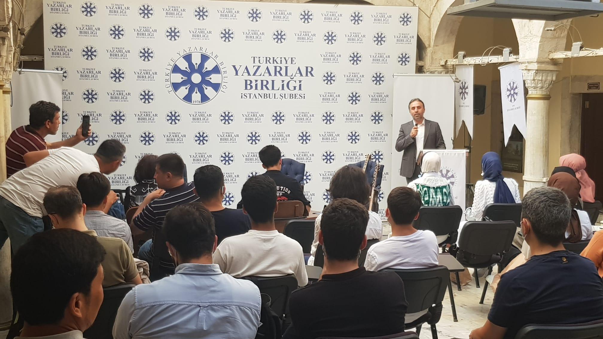 TYB İstanbul'da Abdürrehim Ötkür Konuşuldu!