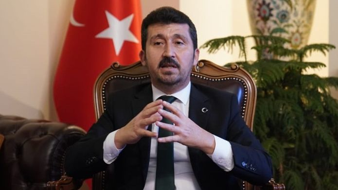 """TYB Genel Başkanı Arıcan Çin devlet başkanına mektup yazdı: """"Uygurların huzur içinde yaşaması en büyük beklentimizdir"""""""