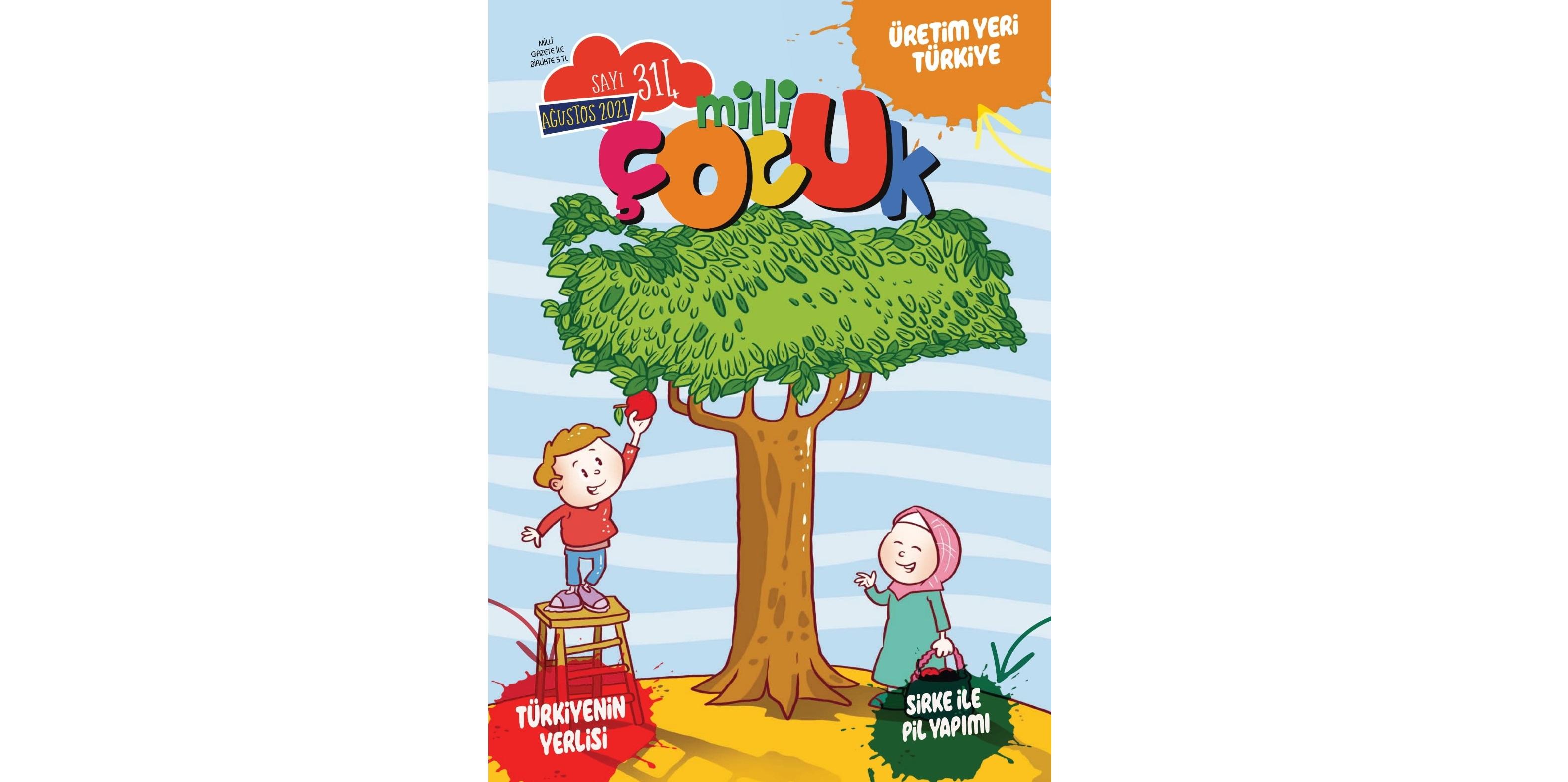 Milli Çocuk Dergisi 314. sayıya ulaştı
