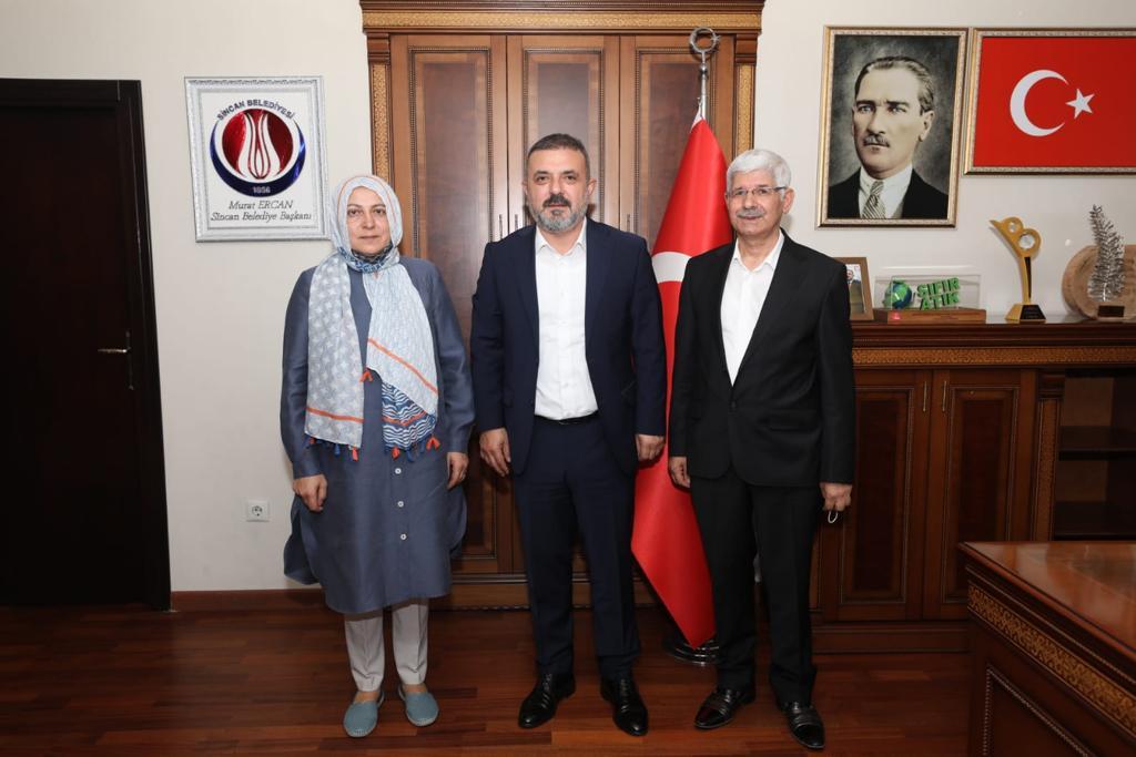 TYB Ankara Şube Başkanı Uluçay, Sincan Belediye Başkanını Ziyarette Bulundu