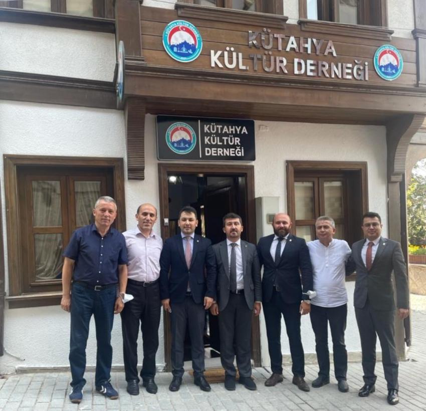 Başkan Arıcan, Kütahya kültür derneğinde
