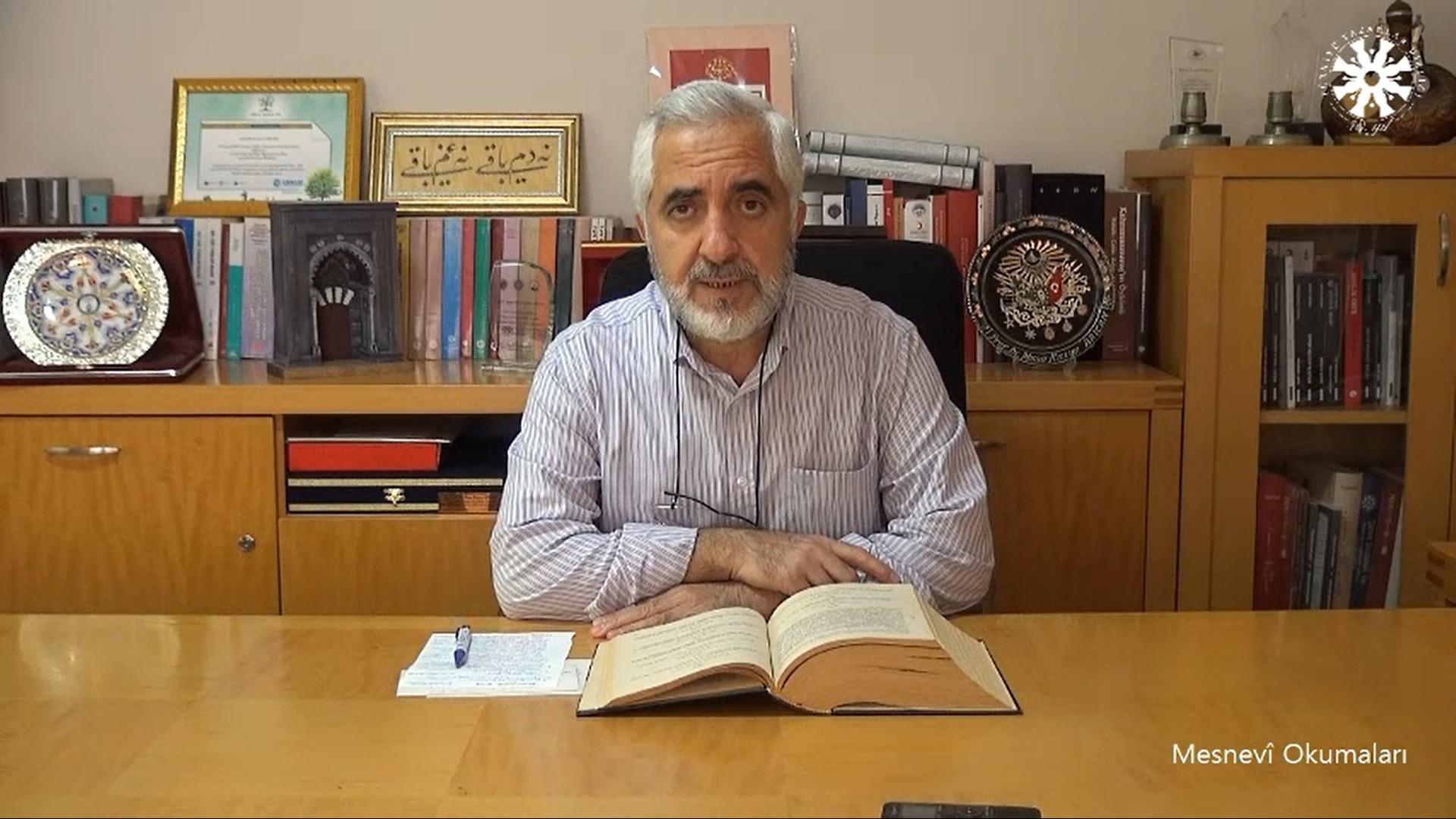 Mesnevî Okumaları -114- Prof. Dr. Zülfikar Güngör