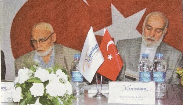 Ankara'da iki vakıf insan: Rıza Çöllüoğlu ve Mustafa Kalfaoğlu