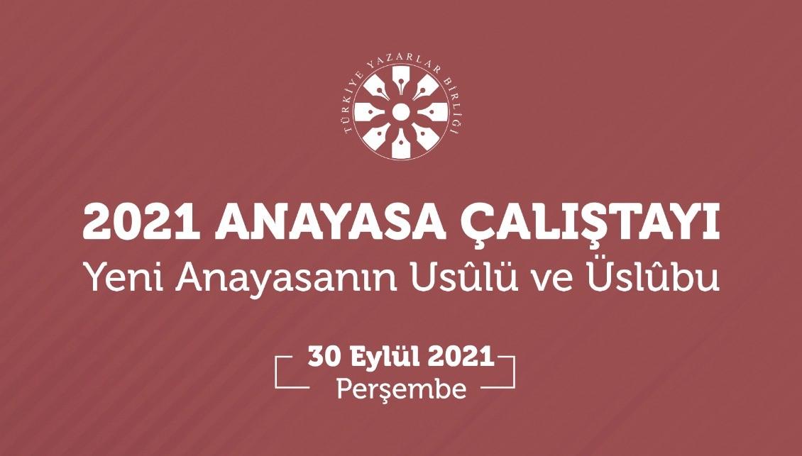 """TYB """"Yeni Anayasa Önerisi için Çalıştay"""" düzenleyecek"""