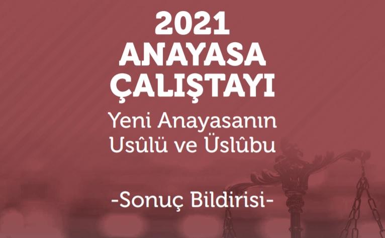 TYB Başkanı Arıcan Yeni Anayasa Taslağı ile ilgili Basın Toplantısı Düzenleyecek