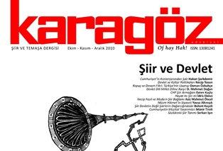 KARAGÖZ 13 DEVLET VE ŞİİR