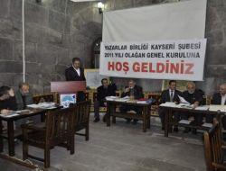 TYB Kayseri Şubesi'nde Yeni Başkan; Ahmet İlhan