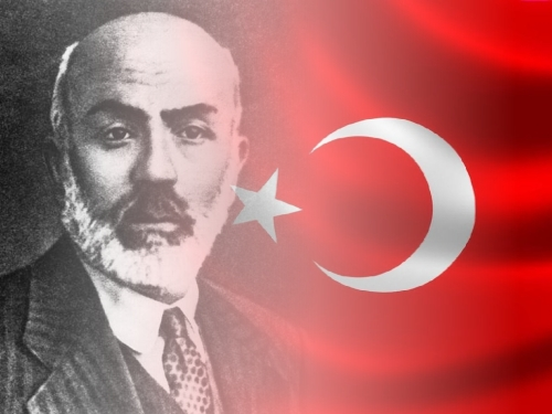 İstiklâl Marşı'nın 90. Yılına logo