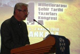 D. Mehmet Doğan'ın 1. Milletlerarası Şehir Tarihi Yazarları Kongresini açış konuşması