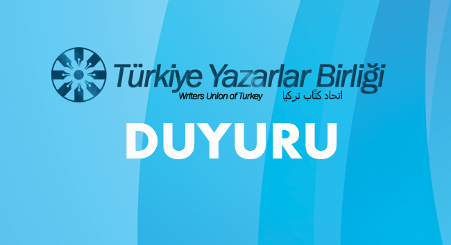 Türkiye Yazarlar Birliği'nden Filistin açıklaması