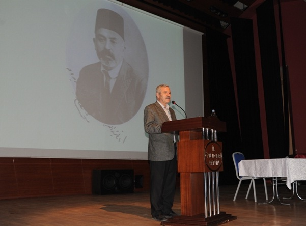 """Artvin'de """"Mehmet Âkif Ersoy ve İstiklâl Marşı'nın Yazılış Süreci"""" Konulu Konferans Düzenlendi"""