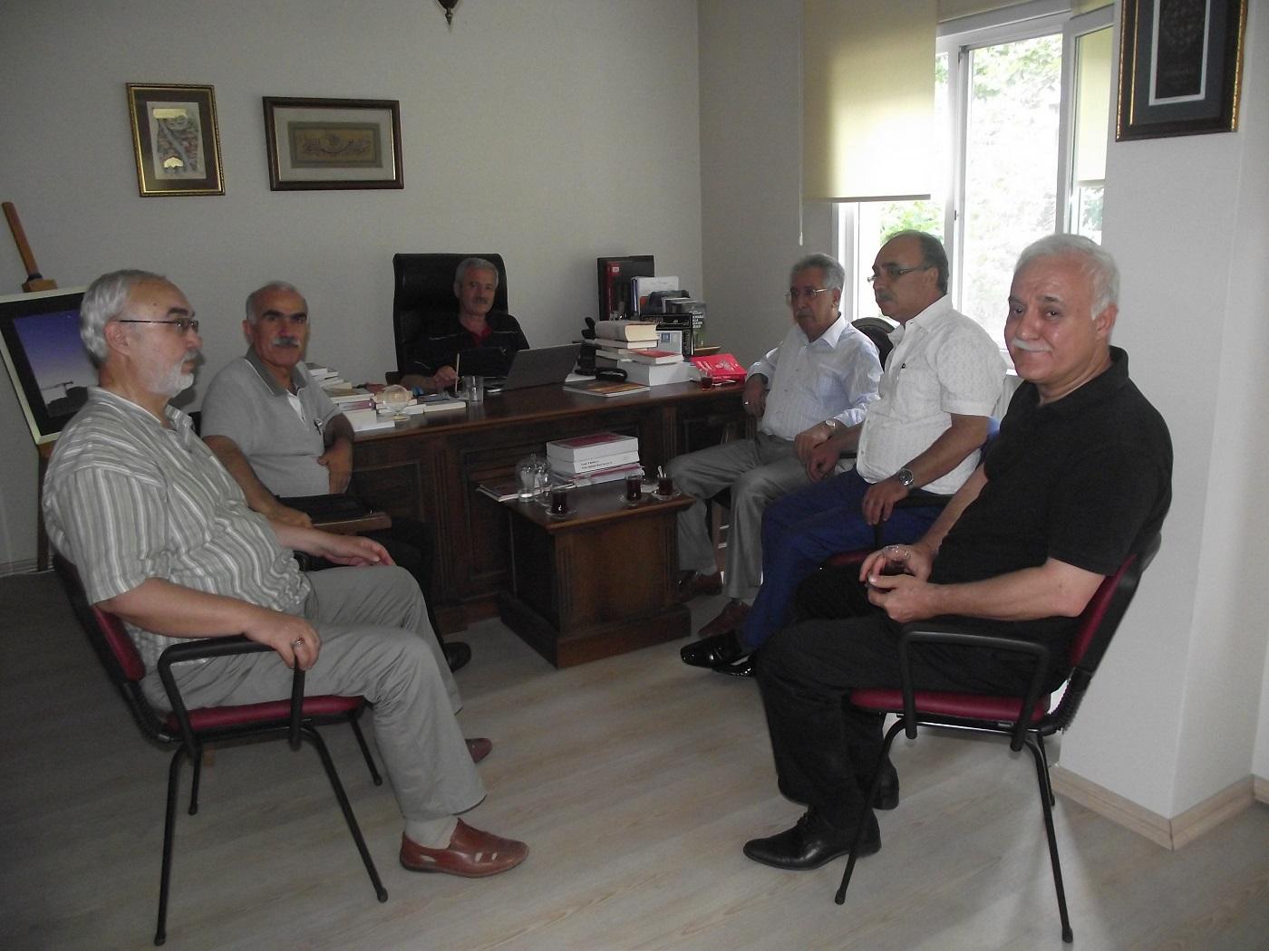 TYB Vakfı Başkanı D. Mehmet Doğan'ı ziyaret