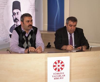 Necdet Subaşı Türkiye Yazarlar Birliği'nde İslam ve Gündelik Hayat üzerine konuştu…