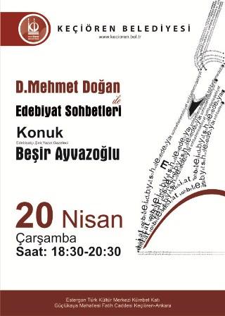 Beşir Ayvazoğlu, D. Mehmet Doğan ile Edebiyat Sohbetleri'nde