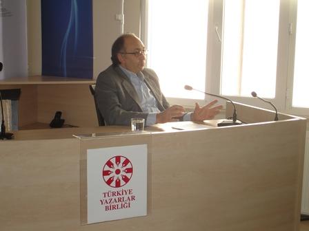 Alper Tan, Yazar Okulu Yönlendirme Dersi'nde Konuştu