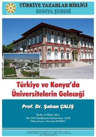 Üniversitelerin Geleceği Konya'da Tartışılıyor