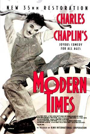 TYB Sinema Kulübü'nde Bu Hafta Modern Zamanlar adlı film gösterilecek