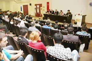 "Gaziantep'te ""Mitat Enç`i Anma ve Anlama"" Paneli"