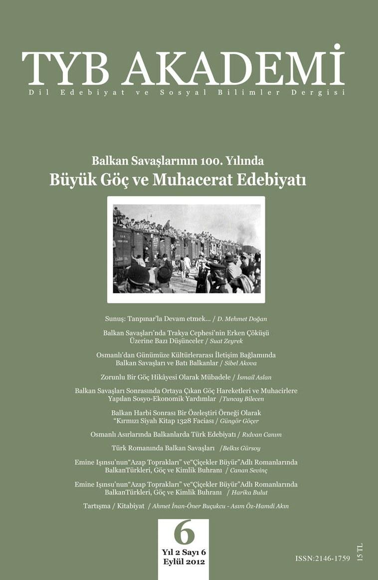 TYB Akademi 6: Yüz Senelik Bir Acı: Büyük göç ve Muhaceret Edebiyatı