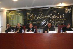 14. Bursa Edebiyat Günleri Metin Önal Mengüşoğlu ve Cevat Akkanat'ın öncülüğünde başarıyla gerçekleştirildi