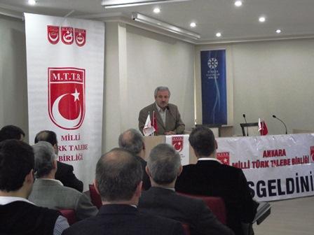 Ankara MTTB tarafından hazırlanan Üstad'ı An(la)ma Programı TYB'de gerçekleştirildi