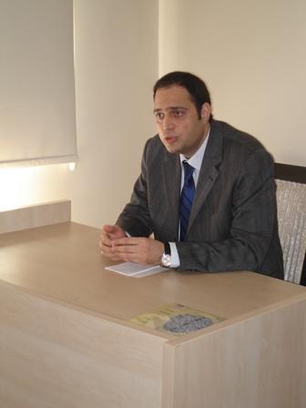 Doç. Dr. Levent Bayraktar, Yazar Okulu Yönlendirme Dersi'nde Konuştu
