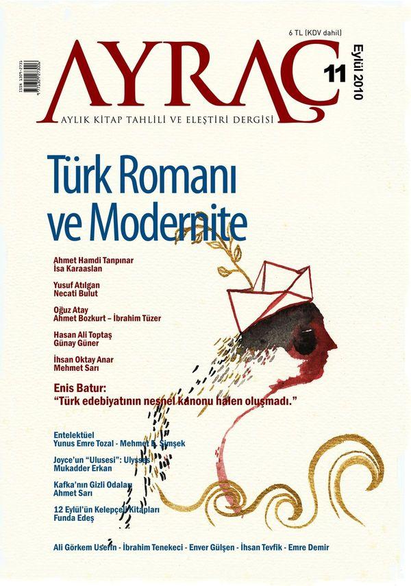 """Ayraç 11 """"Türk Romanı ve Modernite"""" Dosyasıyla Çıktı!"""
