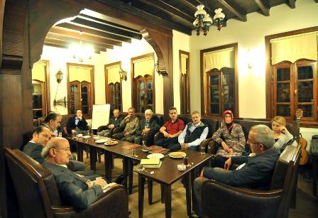 Tyb Sakarya'da Vali Hasan Duruer  'Sanat/Edebiyat Bağlamında Güneydoğu'yu Anlattı