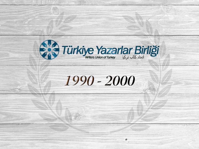 1990 - 2000 Yılları Arası