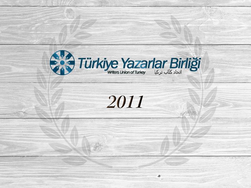 """2011 Yılı """"Yılın Yazar, Fikir Adamı ve Sanatçıları Ödülü"""""""