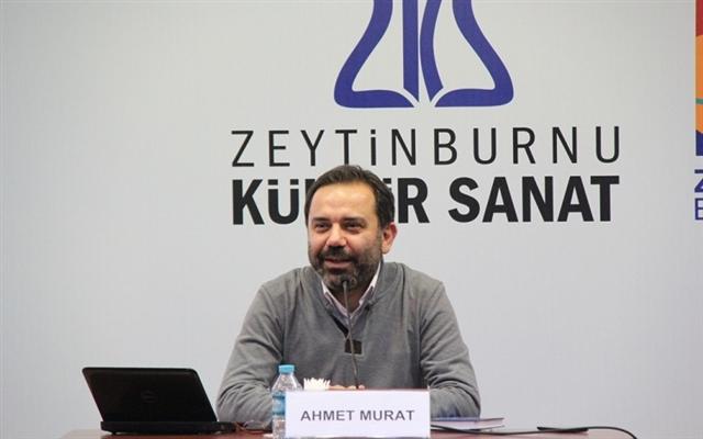 """Ahmet Murat, """"12. İstanbul Edebiyat Festivali""""nde Yunus Emre'yi anlattı"""