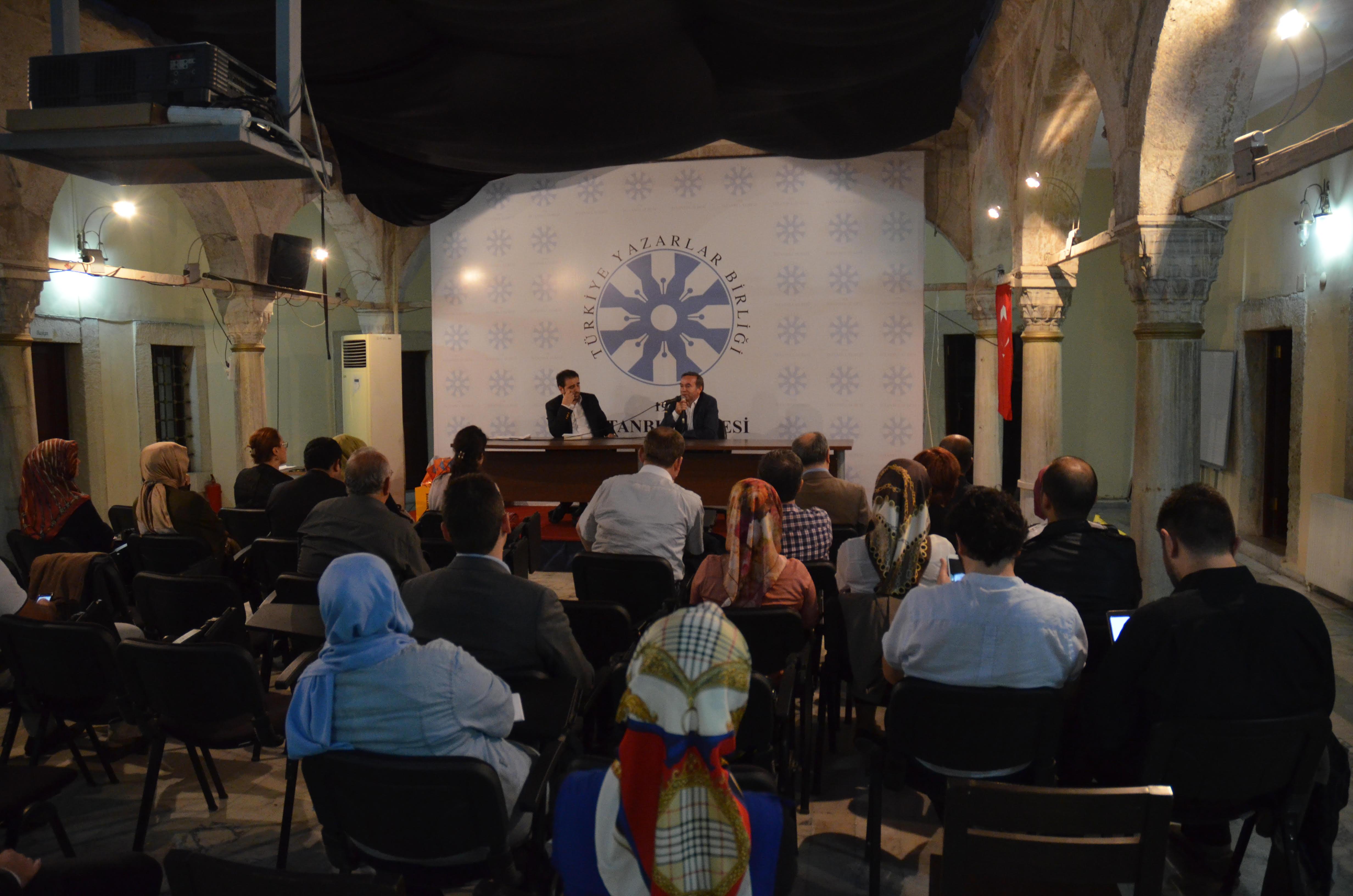 TYB İstanbul Şubesi: Kitabın Ortasından Söyleşiler başladı