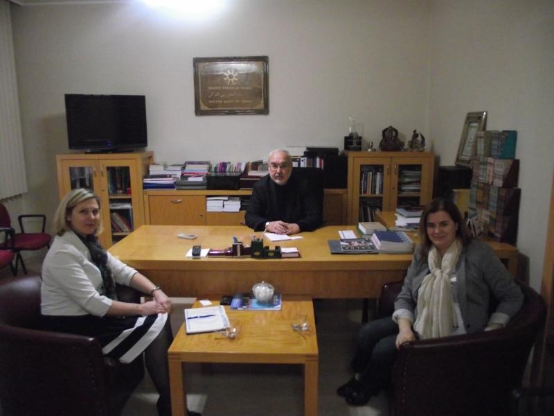 Romanya Büyükelçiliğinden TYB'ye Ziyaret