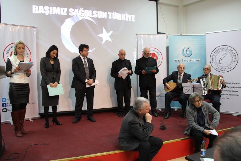 Mehmet Akif Ersoy Kosova'da Anıldı