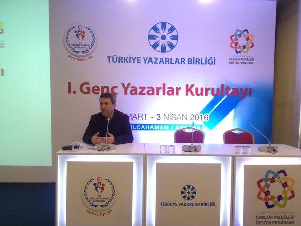 Necip Tosun: Yazarlık öncelikli hedefimiz olmalıdır