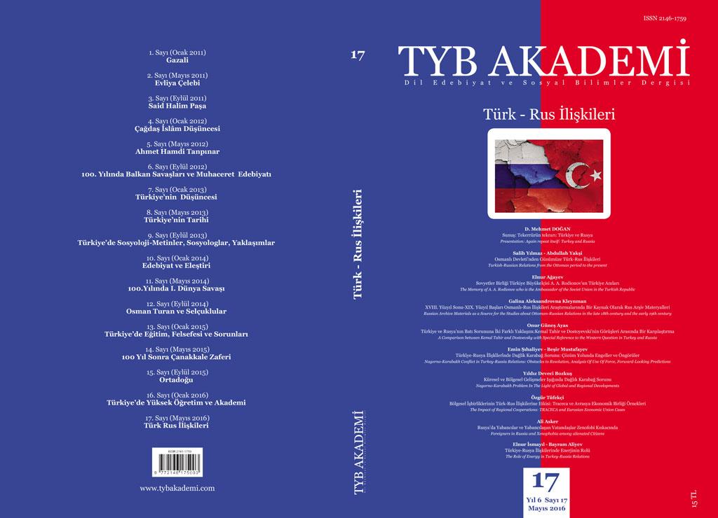 TYB Akademi 17: Türk- Rus İlişkileri
