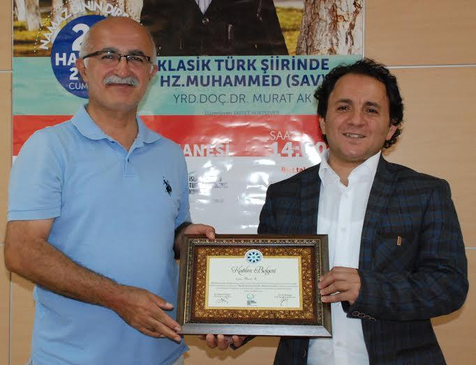 """Konya Şubesinde """"Klasik Türk Şiirinde Hz. Muhammed(Sav)"""" Konuşuldu"""
