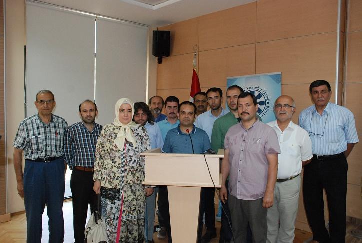 Türkiye Yazarlar Birliği Konya Şubesi'nden açıklama: