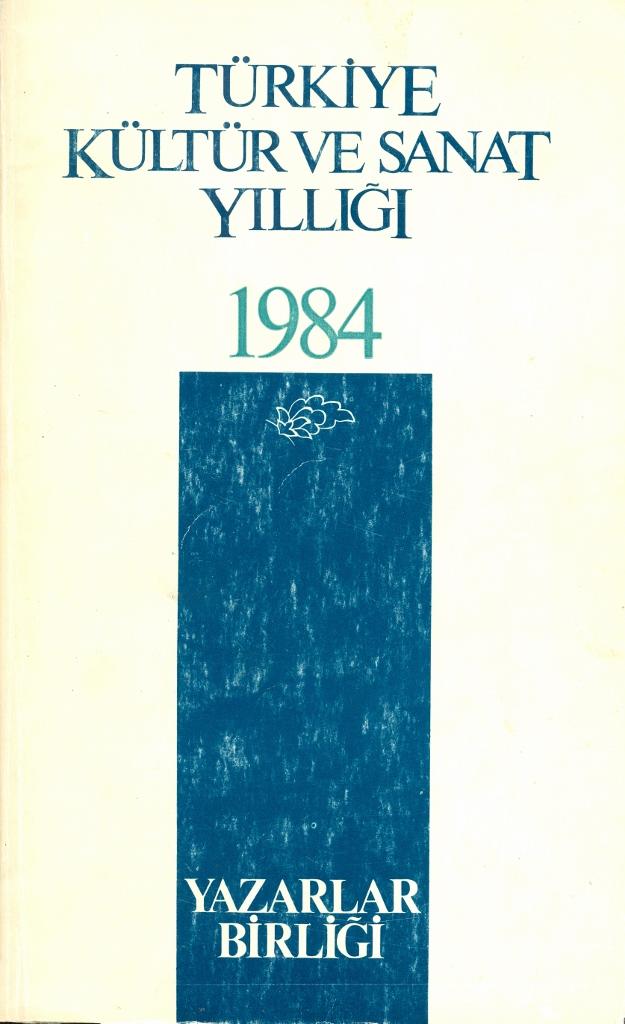 TYB Kitapları 3: 1984 Yılı Kültür Sanat Yıllığı