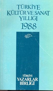 TYB Kitapları 7: 1988 yılı Kültür Sanat Yıllığı