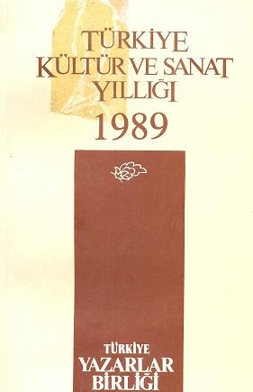 TYB Kitapları 8: 1989 yılı Kültür Sanat Yıllığı