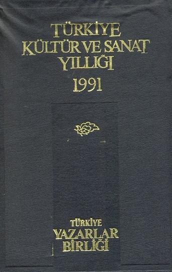 TYB Kitapları 10: 1991 yılı Kültür Sanat Yıllığı