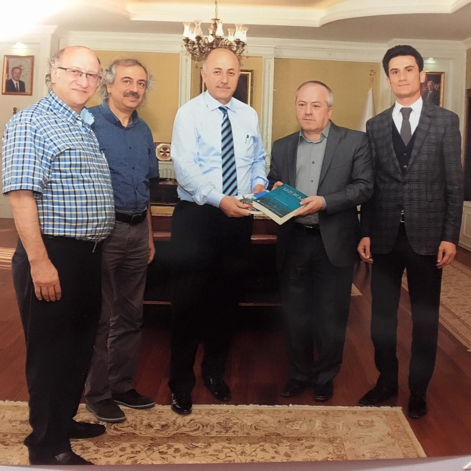 TYB Erzurum Şube Yönetimi Vali Azizoğlu'nu Ziyaret Etti