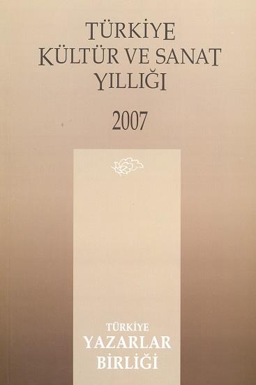 TYB Kitapları 31: 2007 yılı Kültür Sanat Yıllığı
